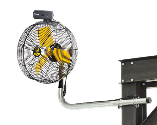 Aireye The Pedestal Fan And Mounted Fan From Big Ass Fans