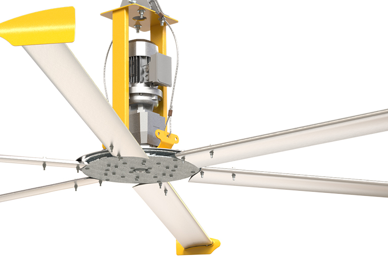 sleek ceiling fans basic 6 commercial duty ceiling fans big ass fans