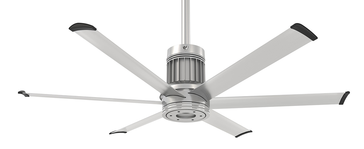 Big As Fan >> I6 The Most Advanced Industrial Styled Ceiling Fan For