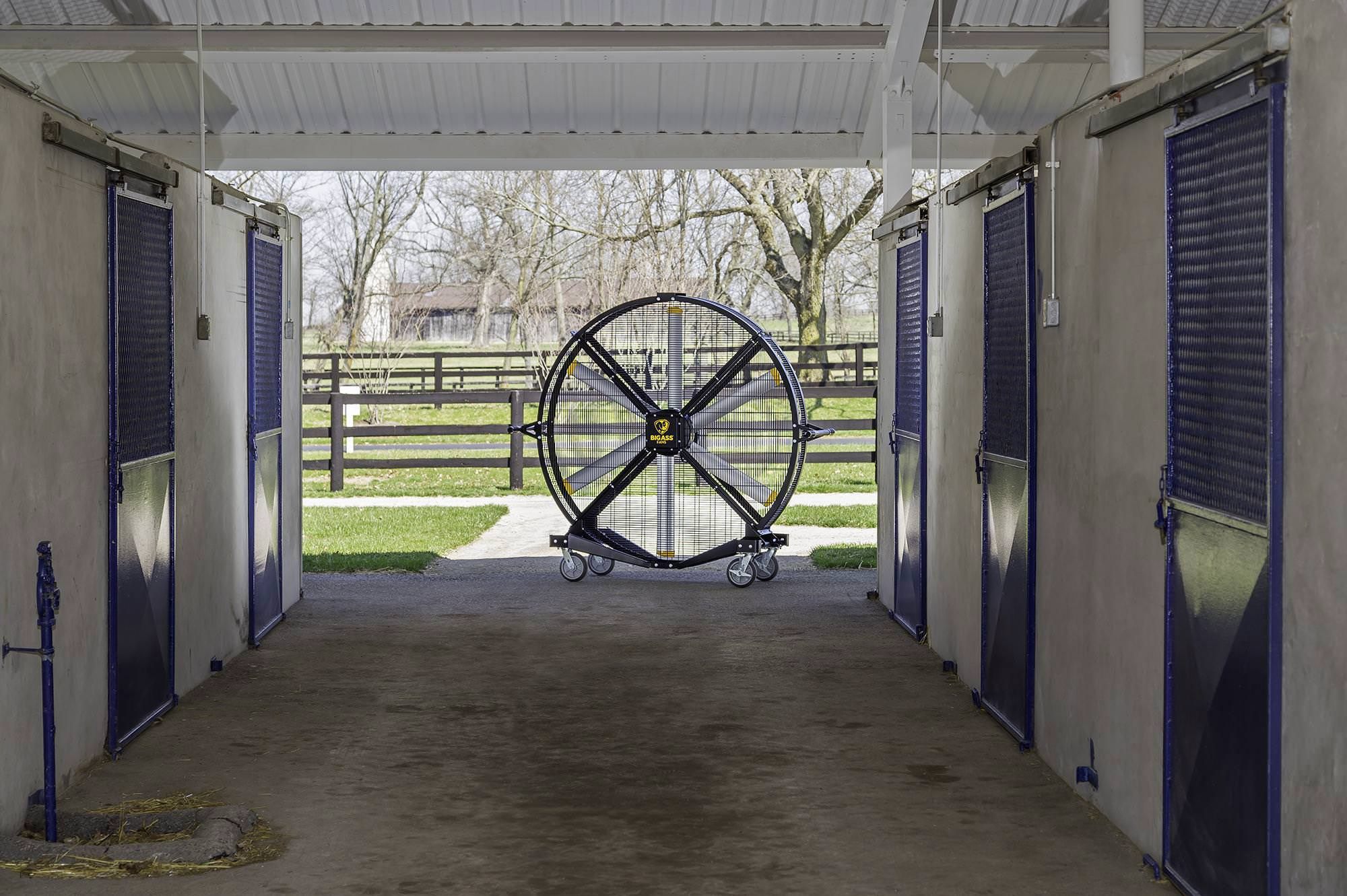 Large Ceiling Fans For Stables Riding Arenas Amp Horse