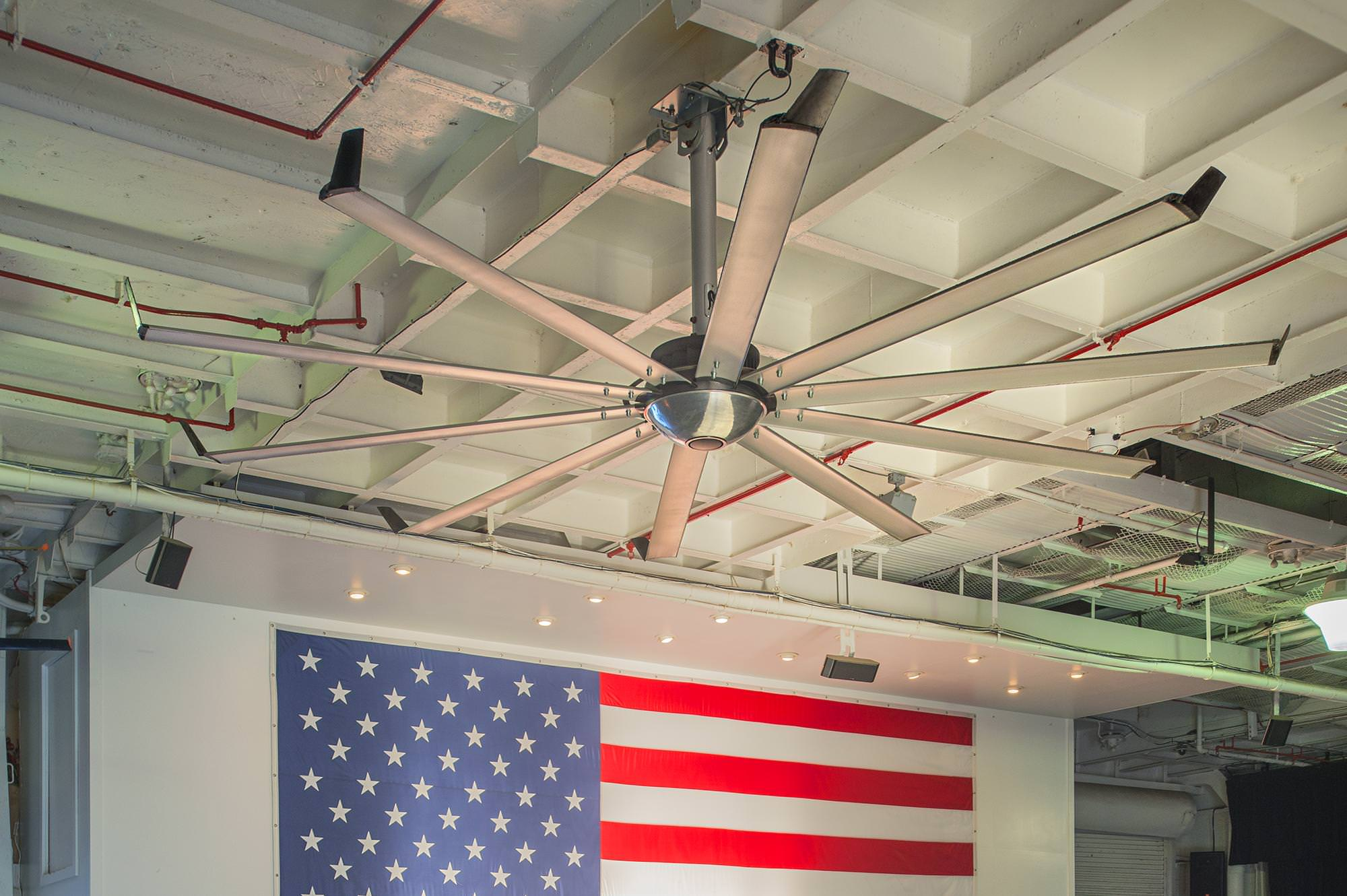 Ceiling Fans for Government Facilities Duty from Big Ass Fans