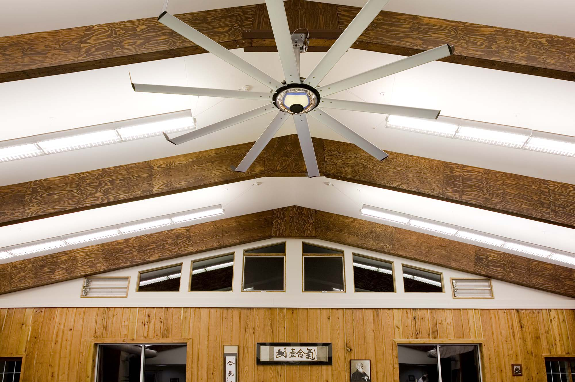 Indoor Sport Ceiling Fans from Big Ass Fans keep athletes Cool and