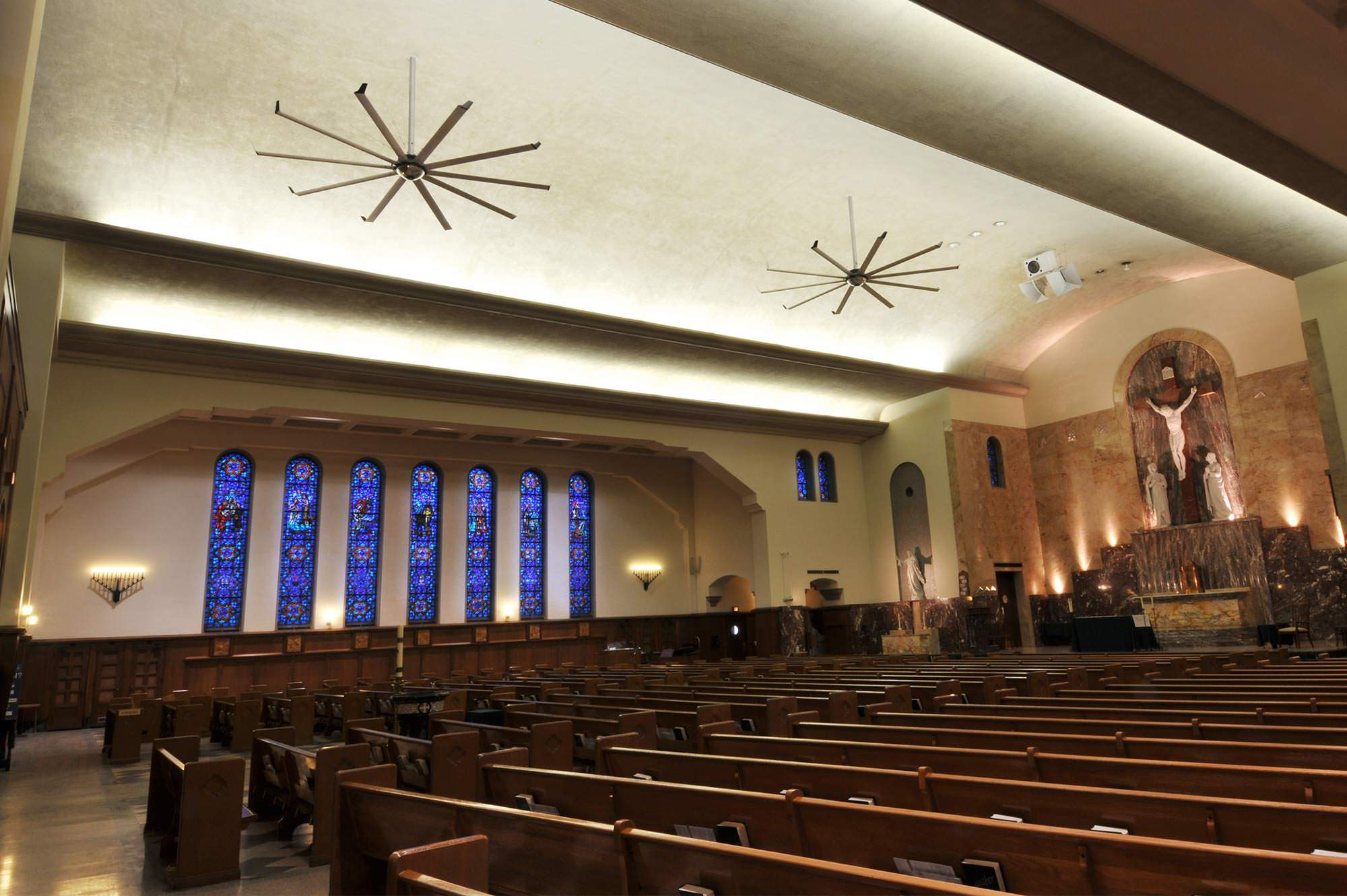 Church Sanctuary Ceiling Fans