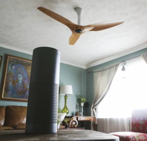 Haiku adds amazon alexa voice control big ass fans amazon echo and other alexa enabled devices will soon offer voice control of haiku ceiling fans by big ass fans just in time for warmer spring aloadofball Image collections