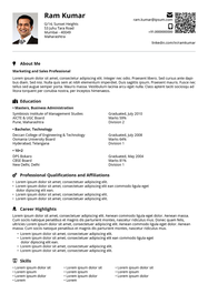 Corporate with Style resume template