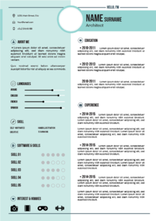 pole star resume template