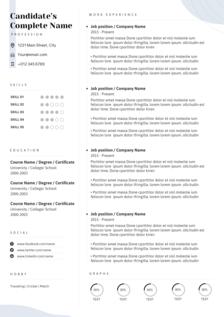 planetoid resume template