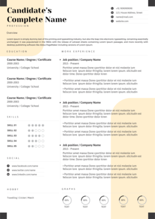 twilight resume template