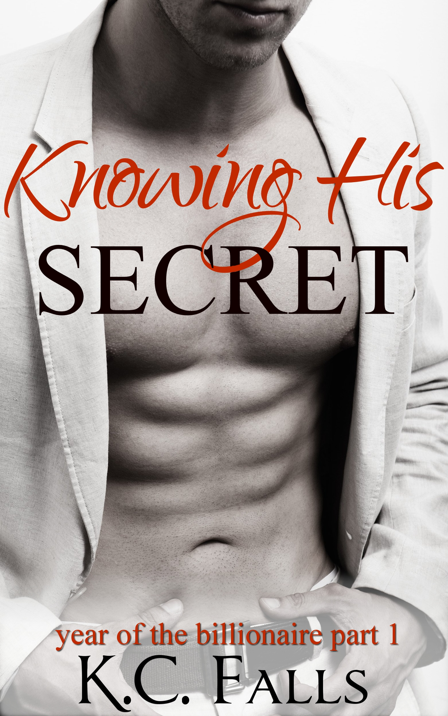 Knowing his secret (year of the billionaire #1)