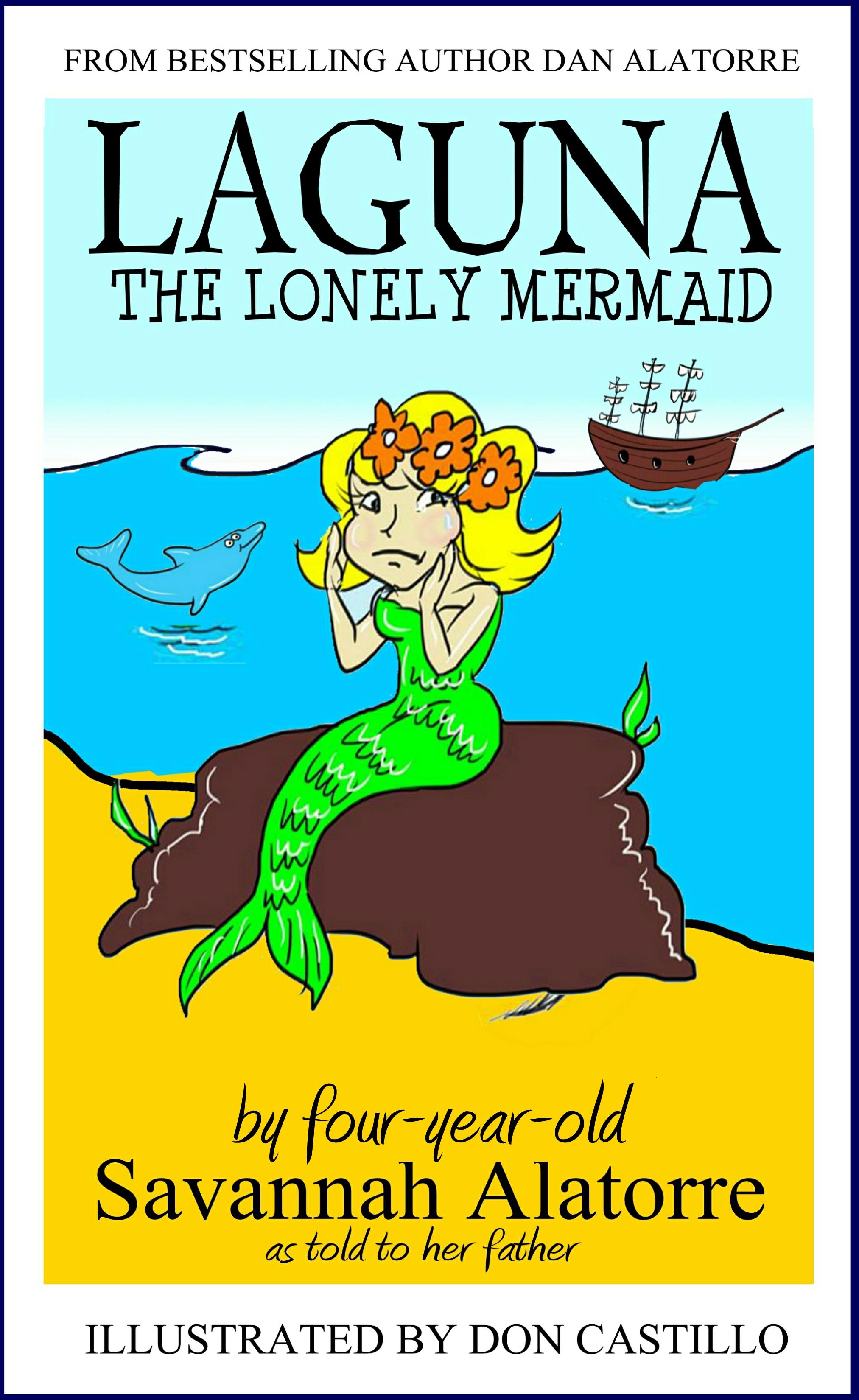 Laguna the lonely mermaid