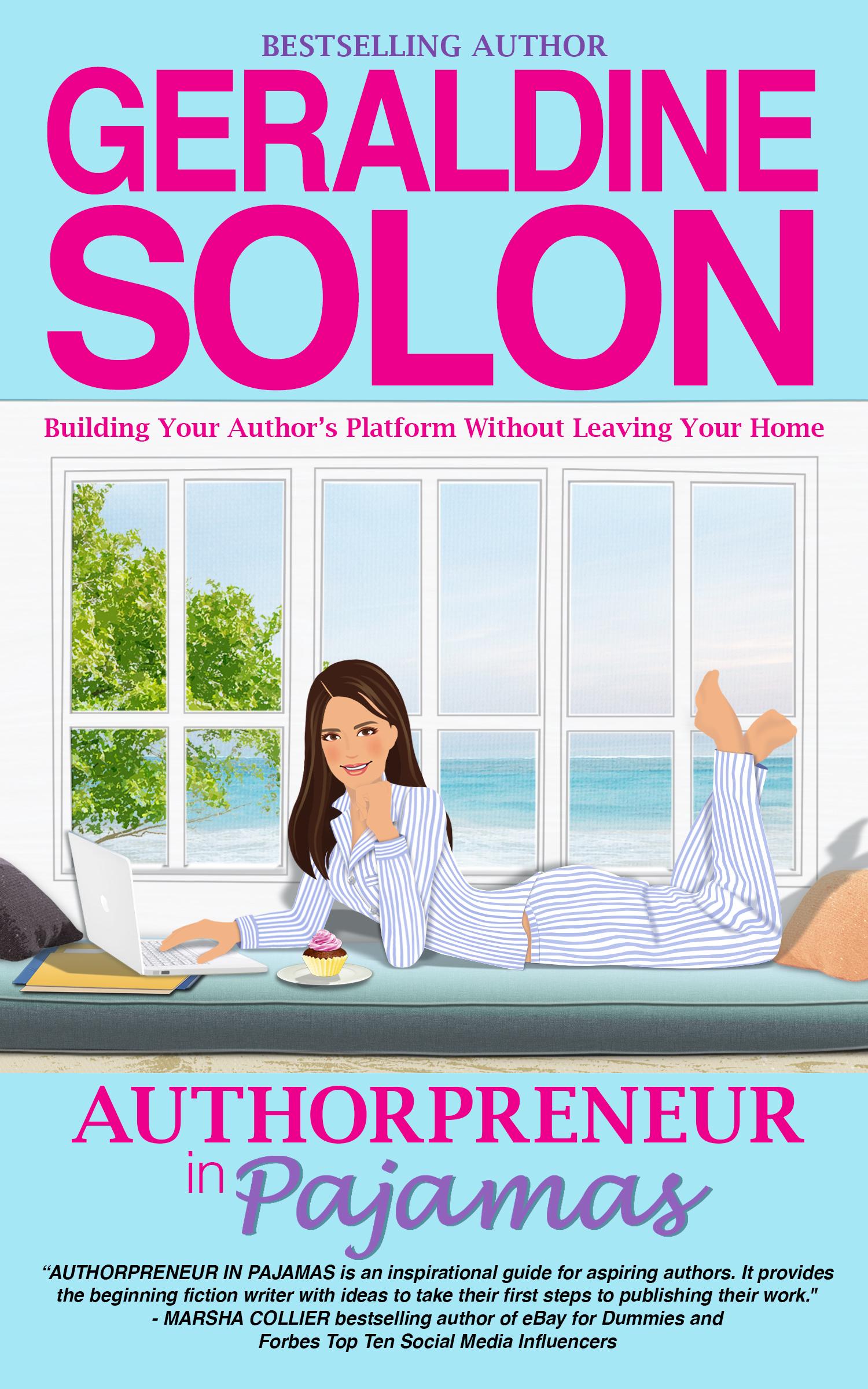 Authorpreneur in pajamas