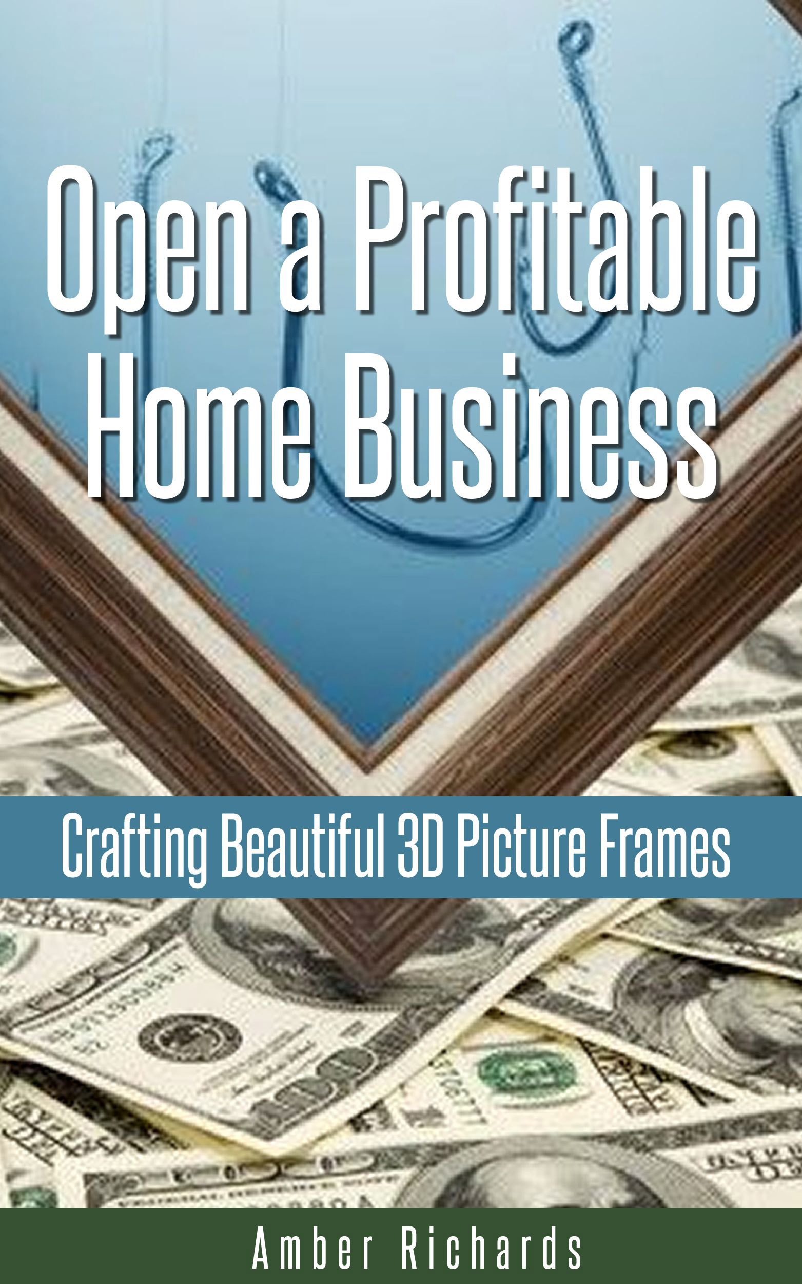 Open a profitable home business crafting beautiful 3d picture frames