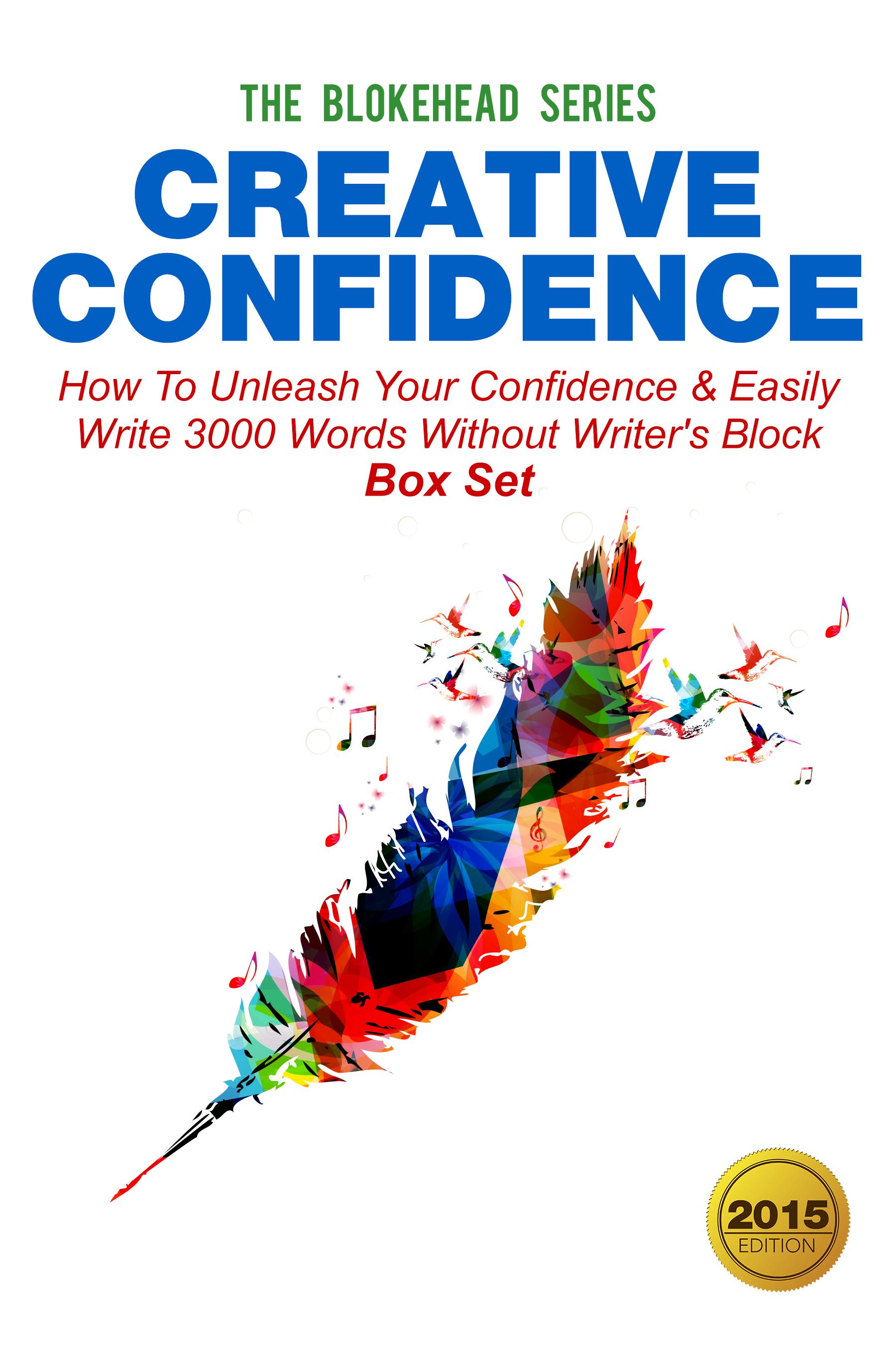 Creative confidence:how to unleash your confidence  block box set