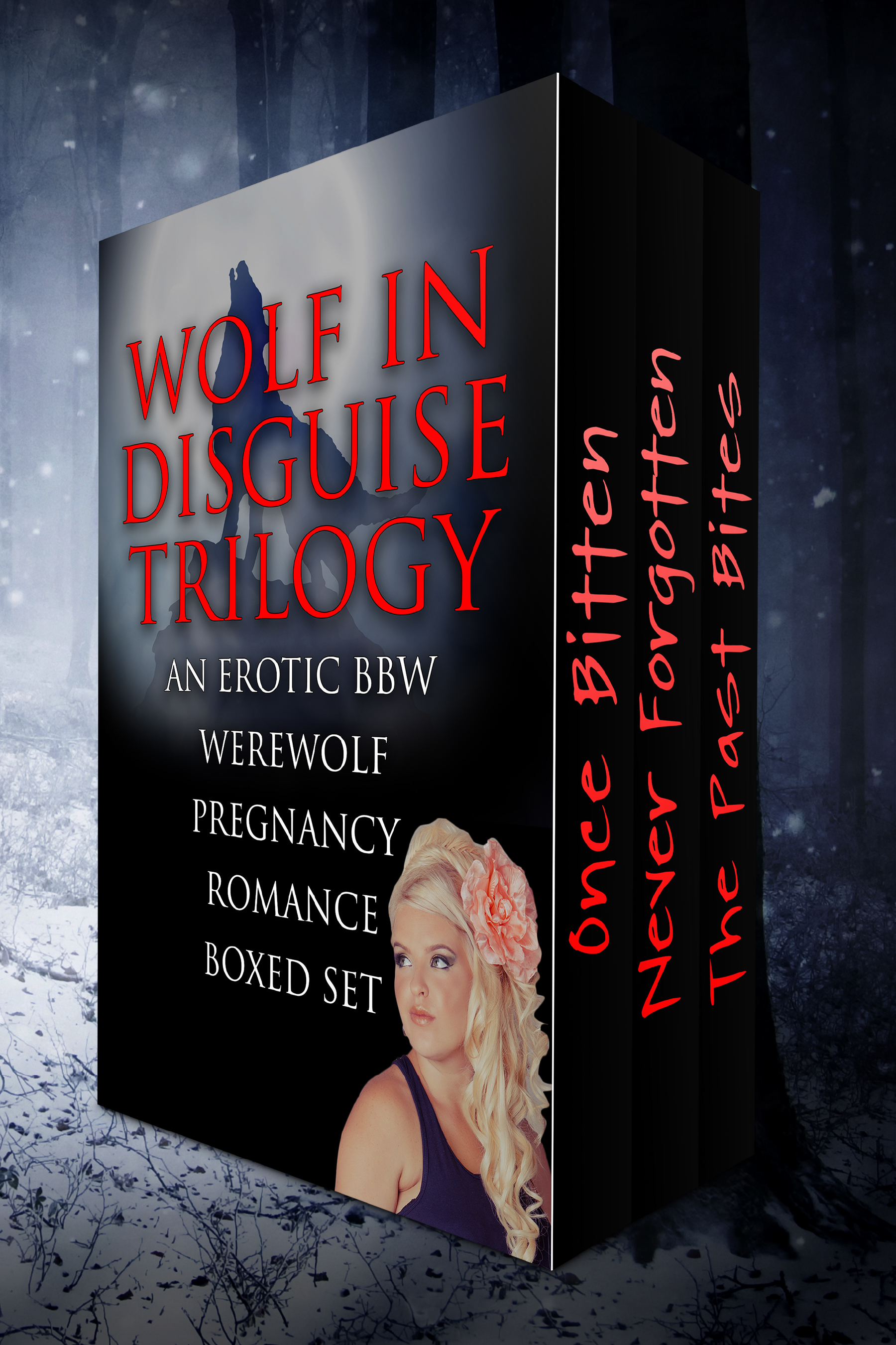 Wolf in disguise trilogy (an erotic bbw werewolf pregnancy romance boxed set)