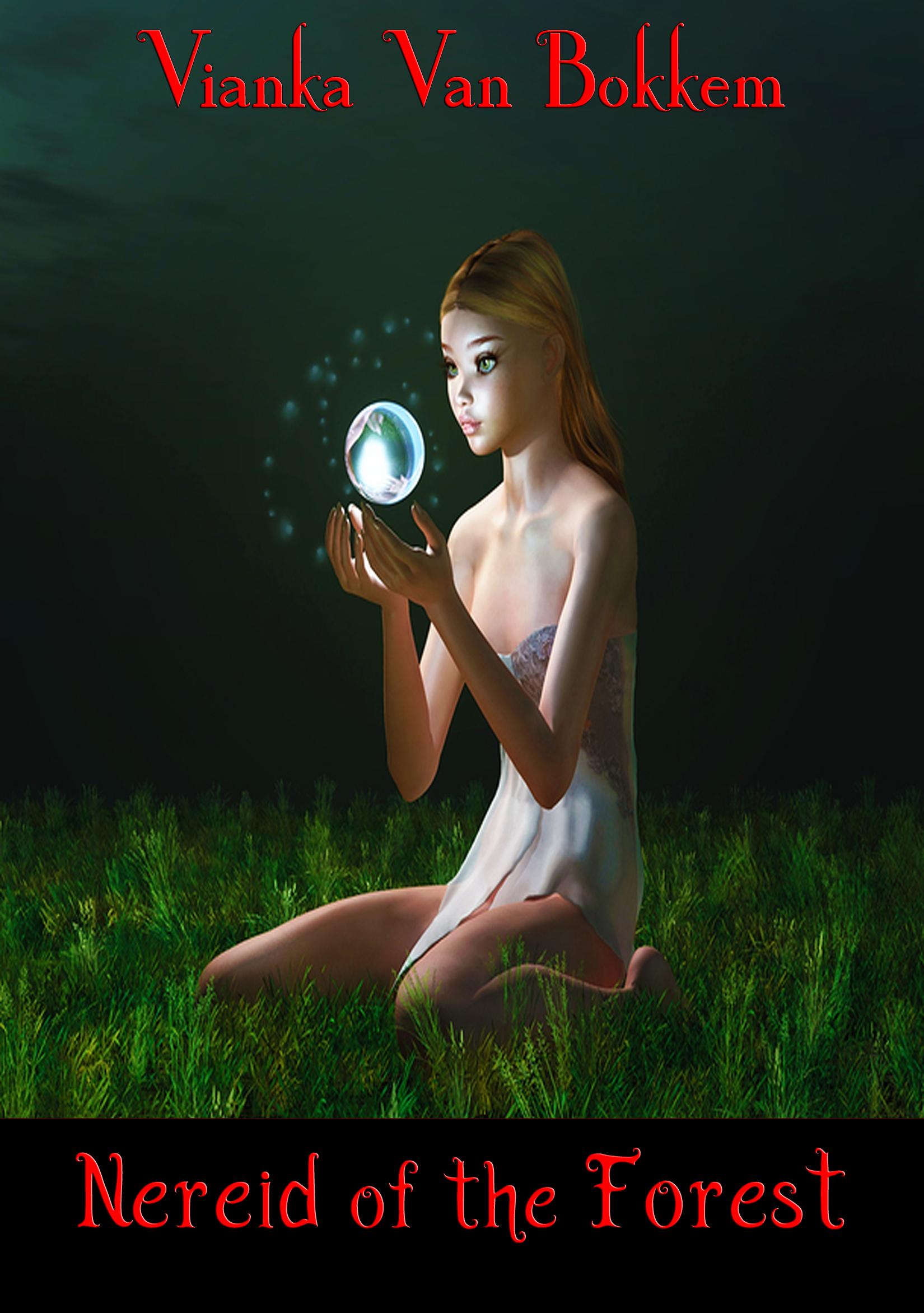 Nereid of the forest (mythology - fantasy and magic)