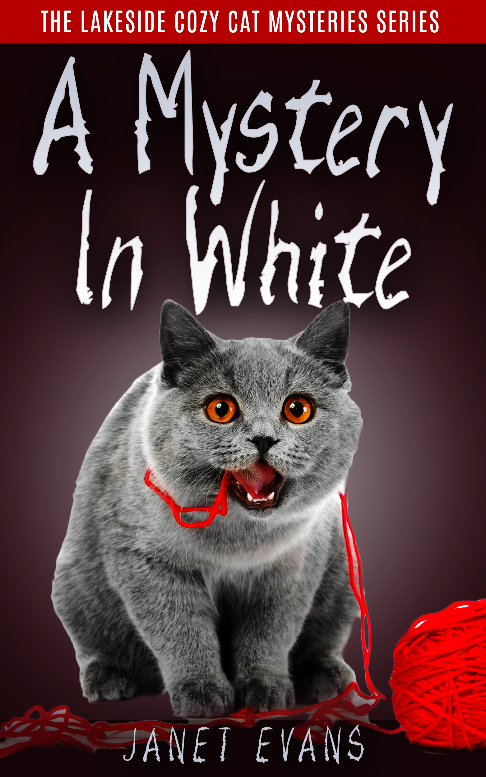 A mystery in white   ( the lakeside cozy cat mystery series - book 2 )