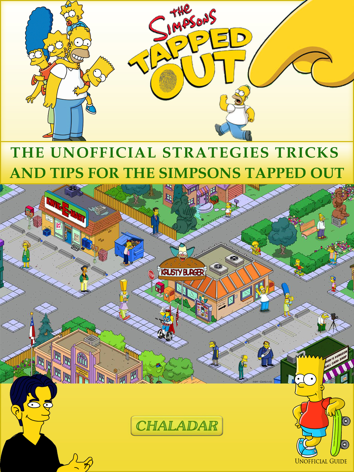 The simpsons tapped out game guide unofficial