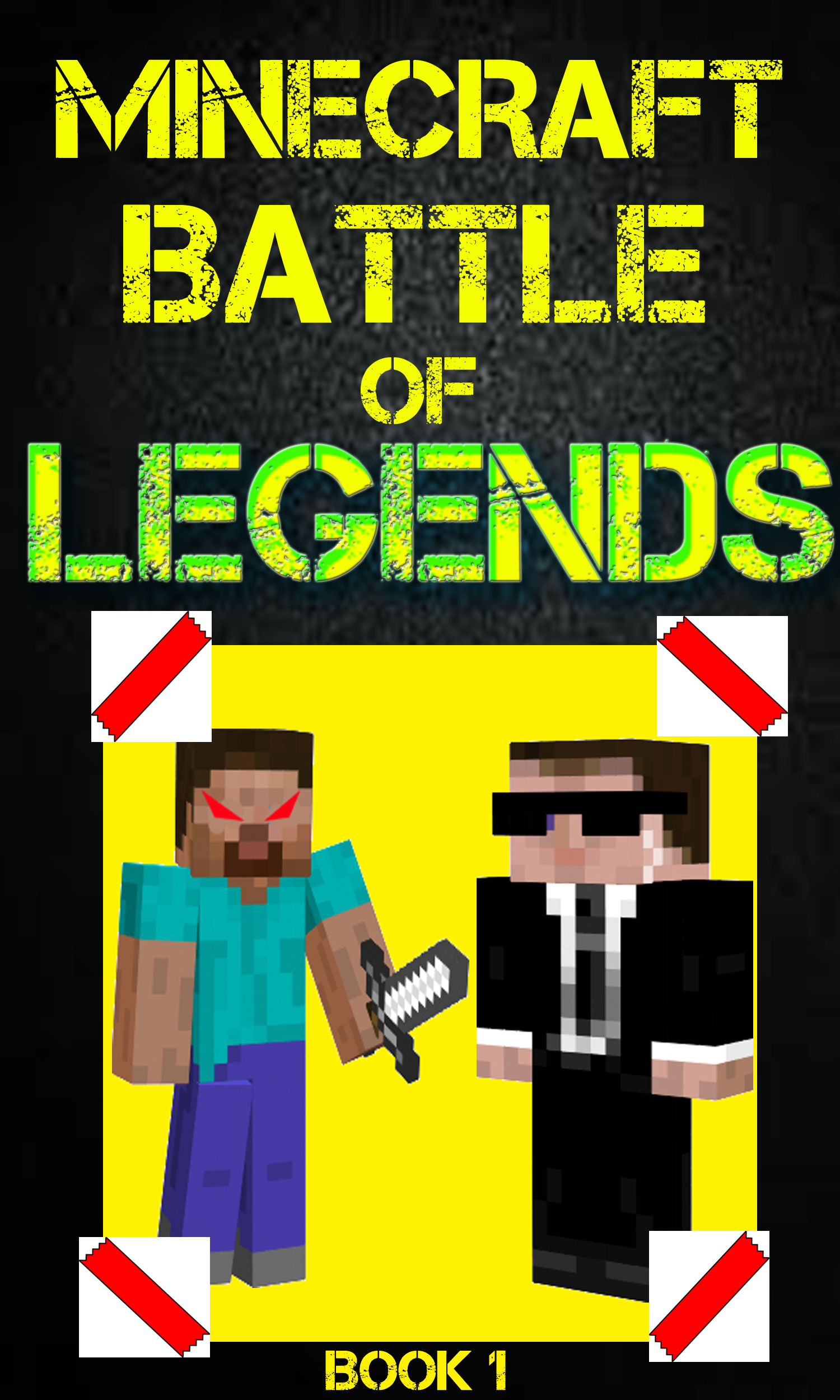 Minecraft: battle of legends book 1