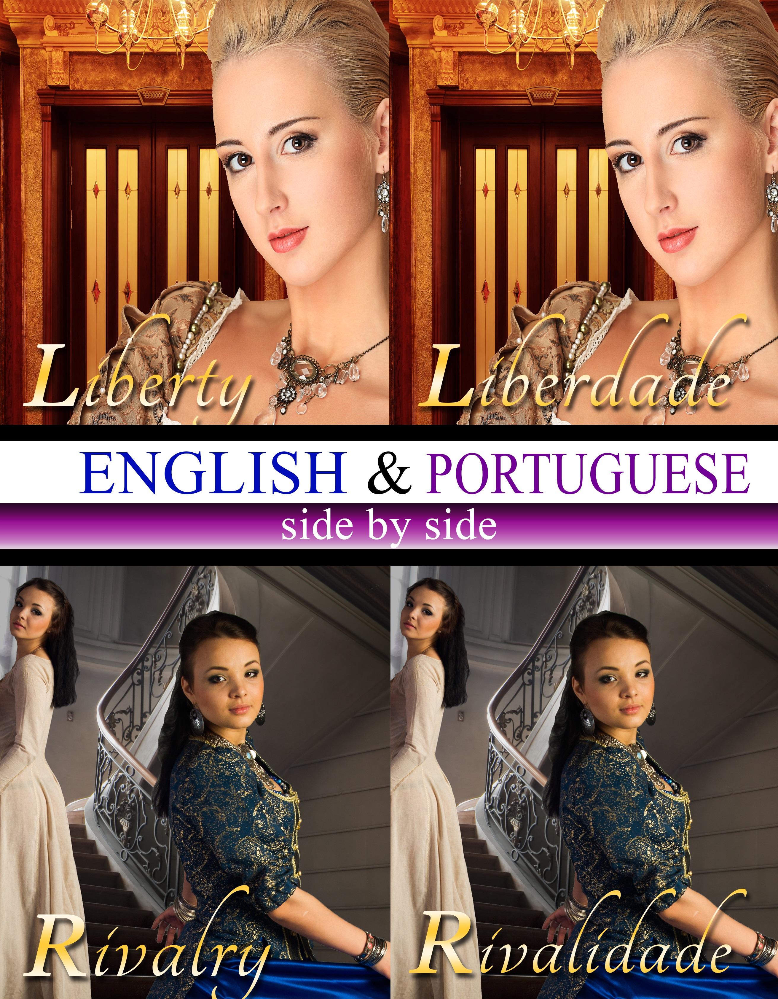English & portuguese side by side