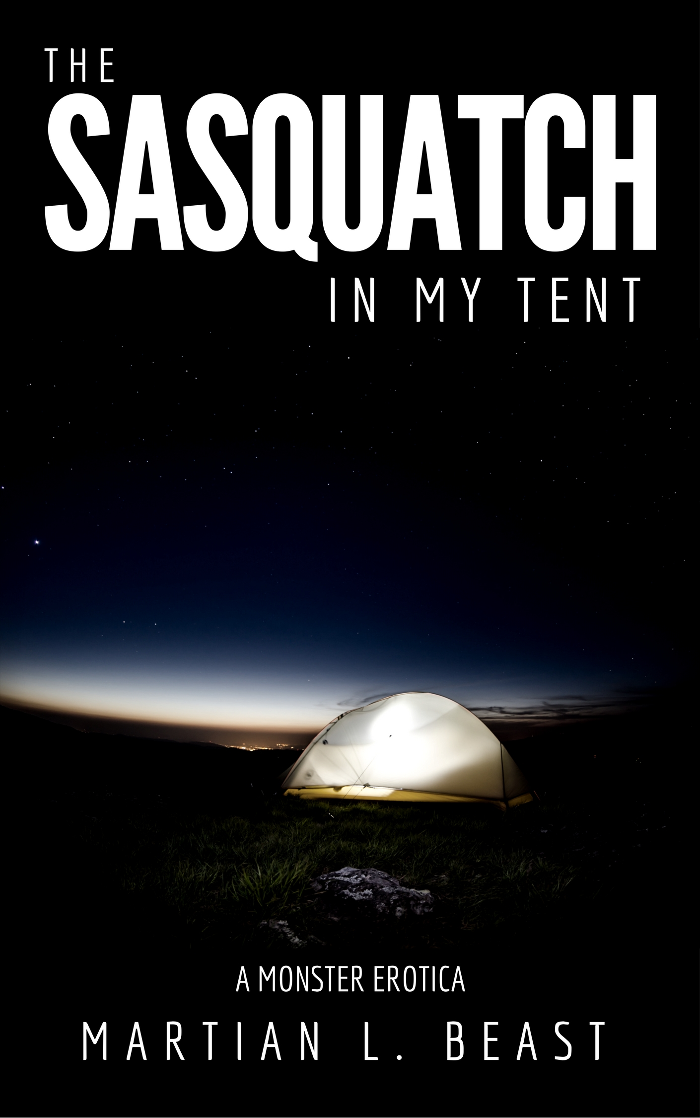 The sasquatch in my tent - a monster erotica