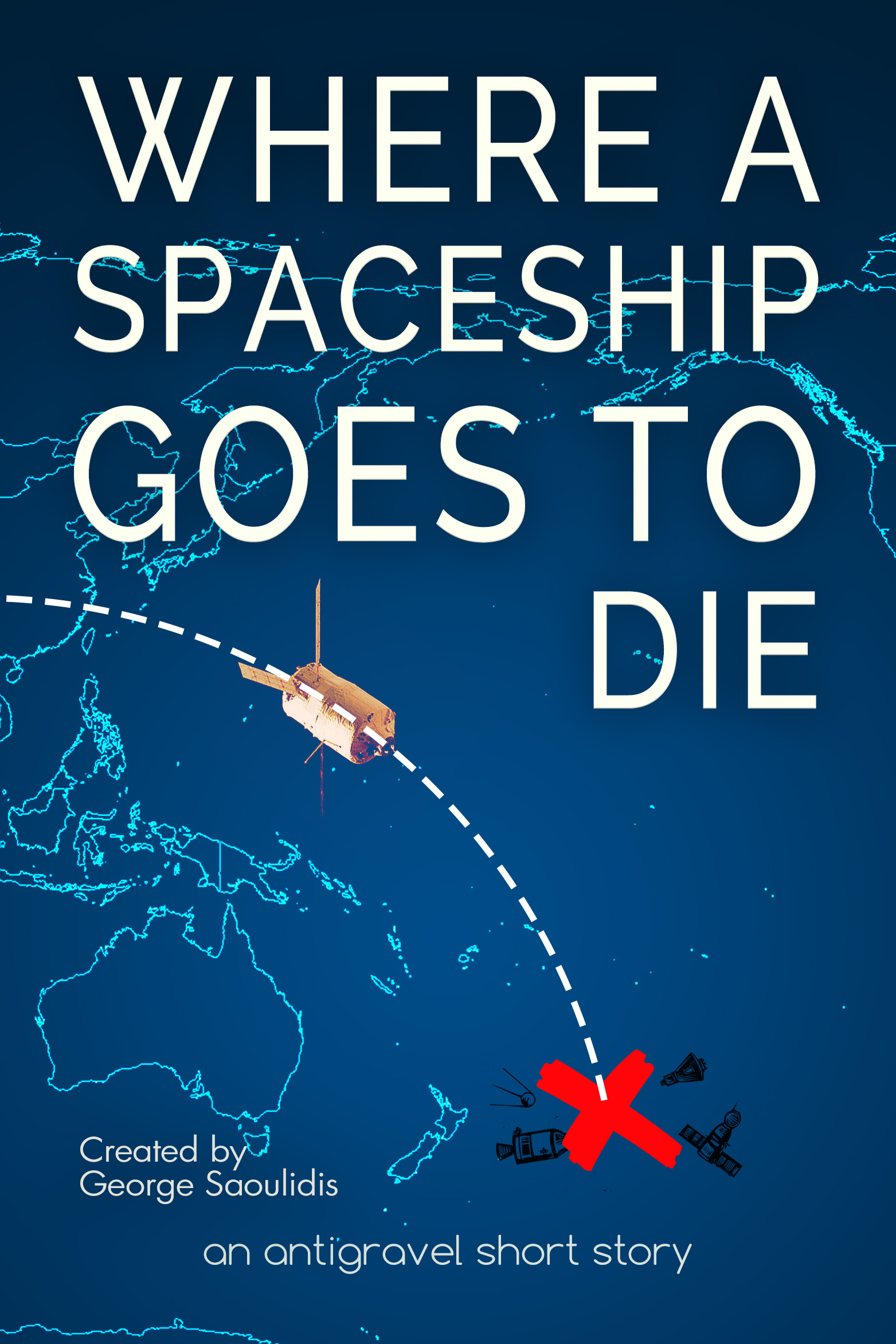 Where a spaceship goes to die