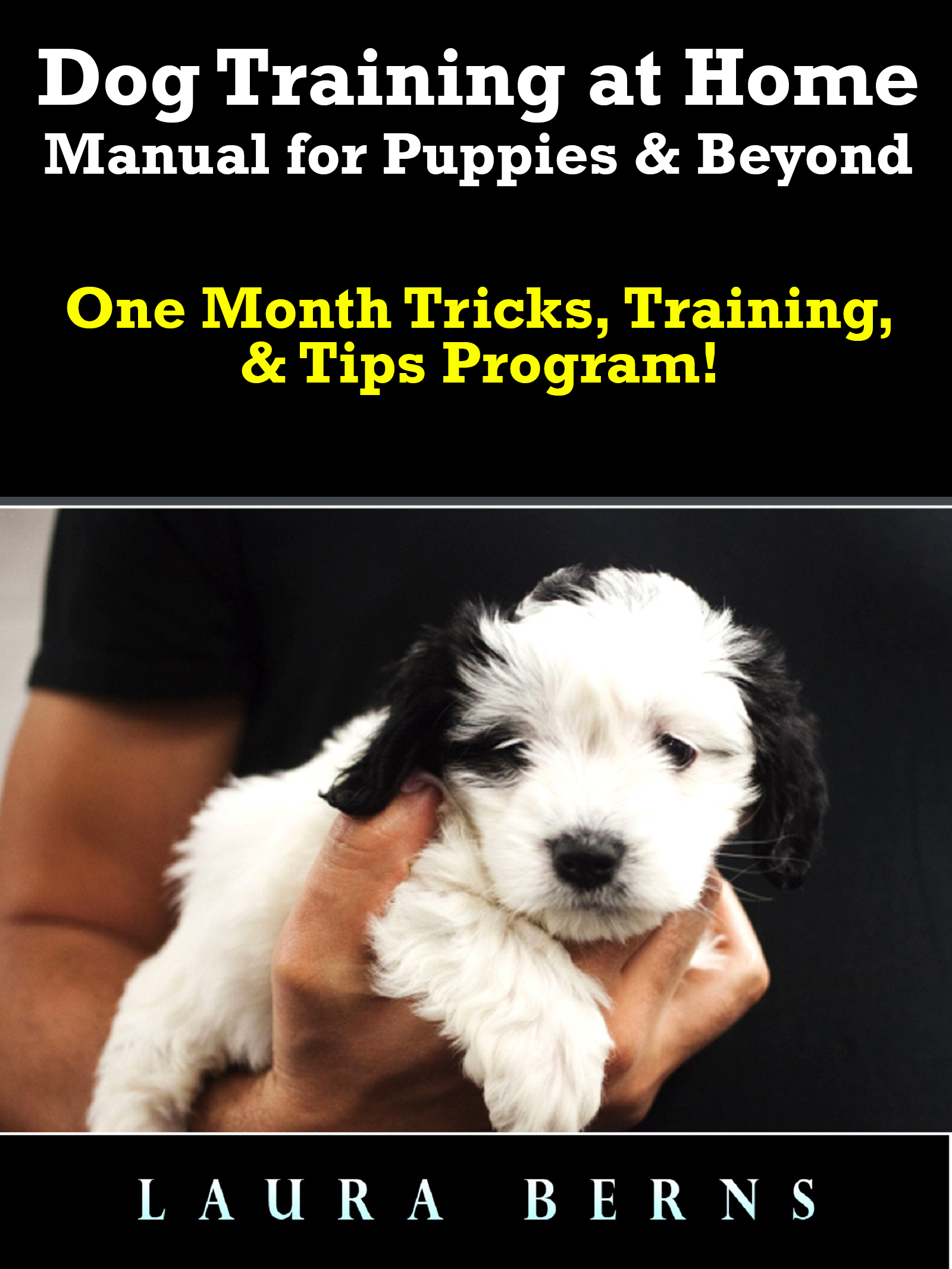 Dog training at home manual for puppies & beyond: one month tricks, training, & tips program!