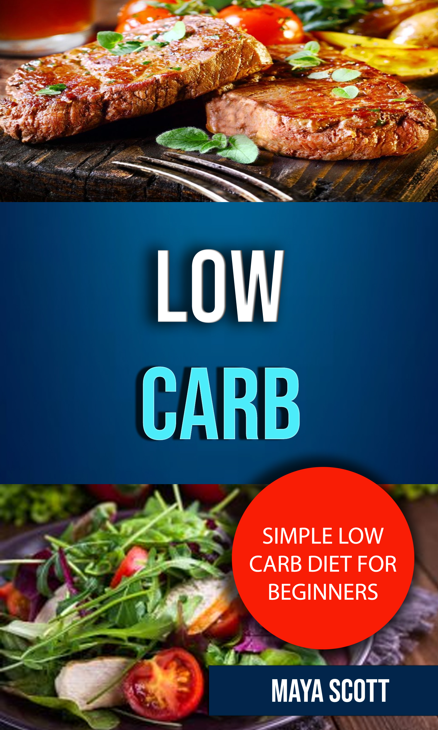 Low carb: simple low carb diet for beginners