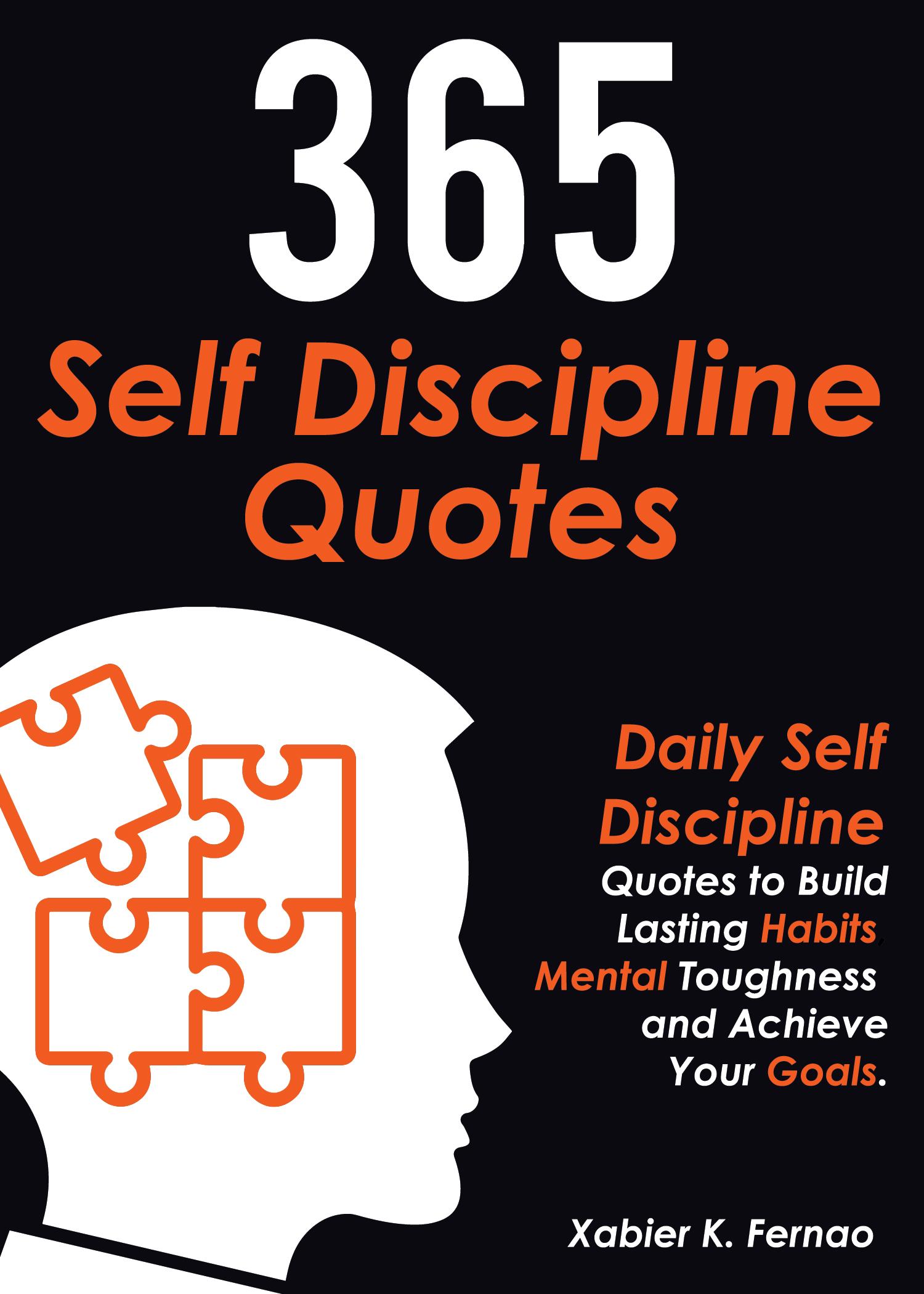 365 self discipline quotes