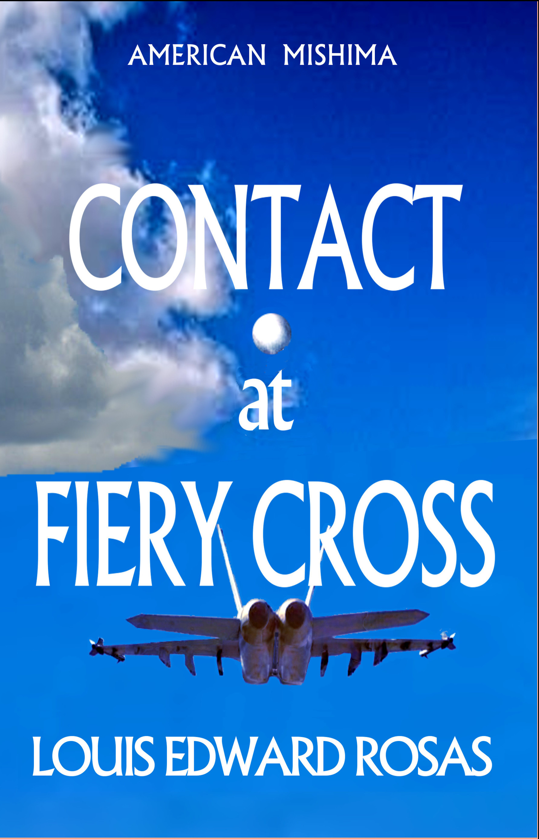 Contact at fiery cross