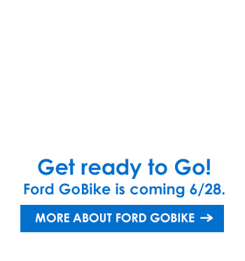 Announcing Ford GoBike