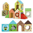 Skip Hop : Alphabet Zoo ABC House Blocks