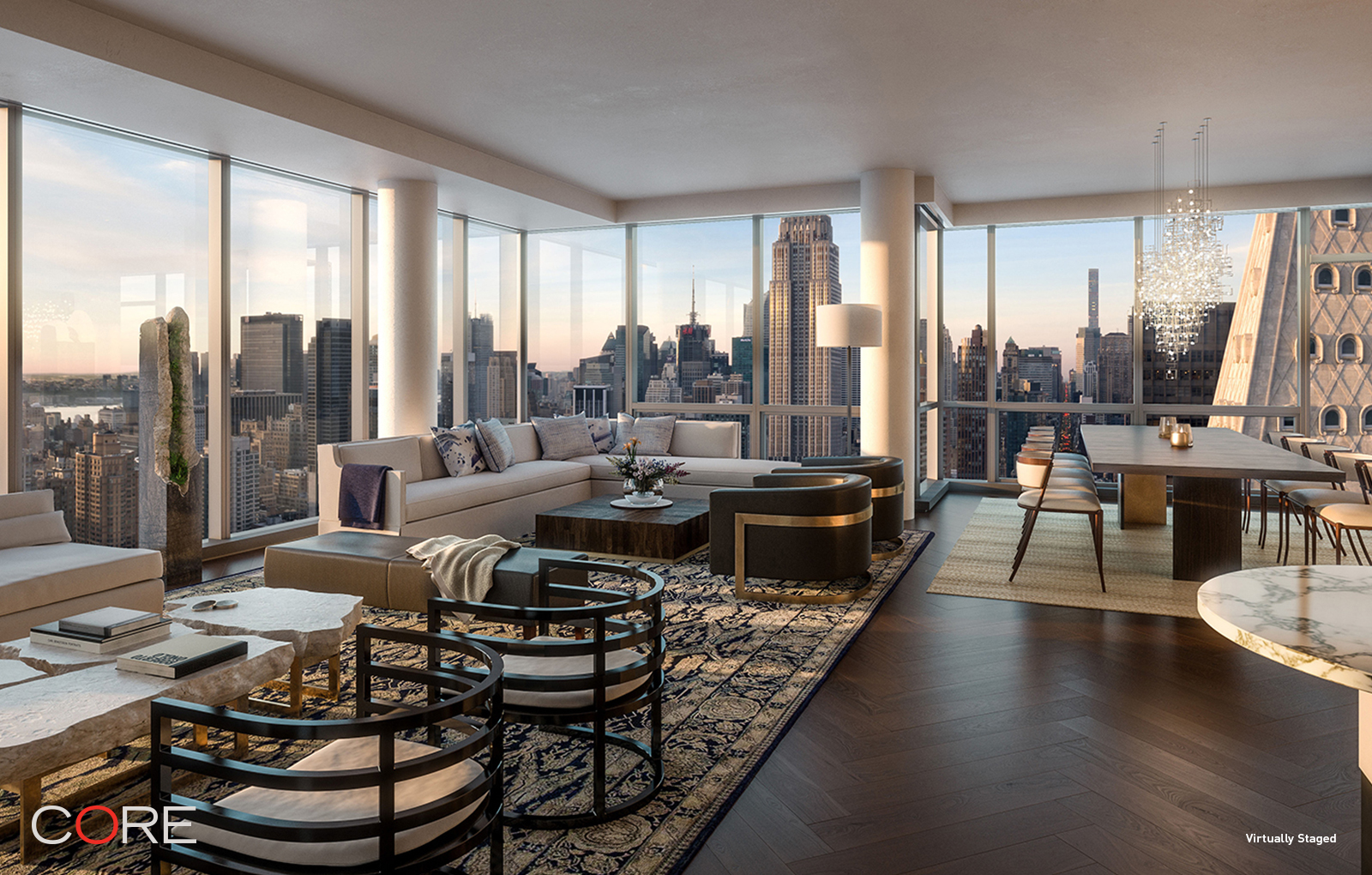 Condominium for Sale at One Madison, 23 East 22nd Street Ph55/56 23 East 22nd Street New York, New York 10010 United States