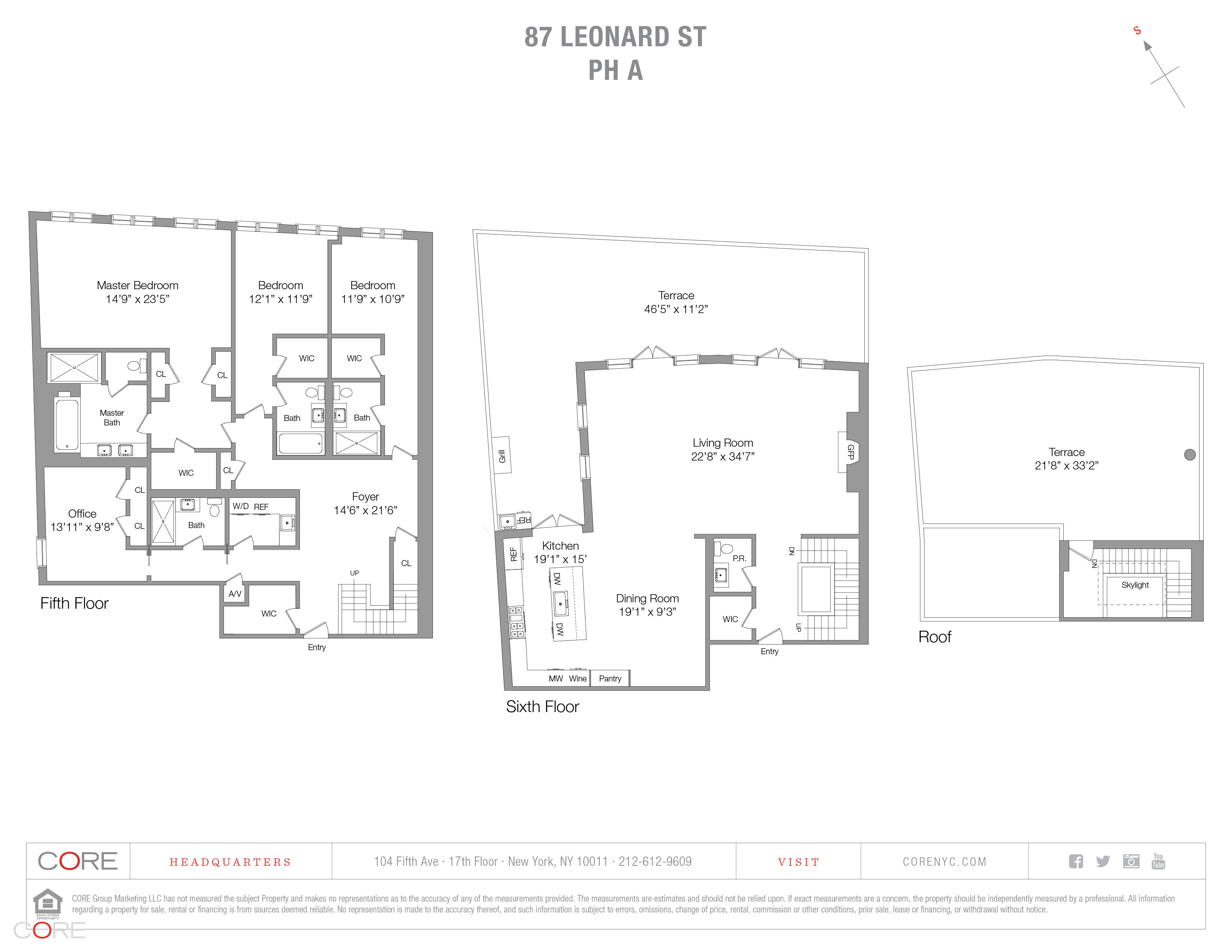 87 leonard street pha fp