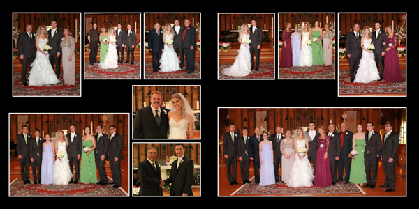 Wedding at Sacred Heart Church and Borio's in Cicero, NY