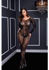 Longsleeve Crotchless Bodystocking