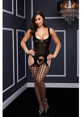 Crotchless Garter Bodystocking