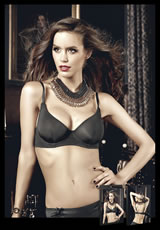 Microfiber Maximum Cleavage Bra With Underwire
