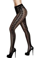 Braided Jacquard Pantyhose