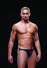 Wetlook Bareback Athletic Jock