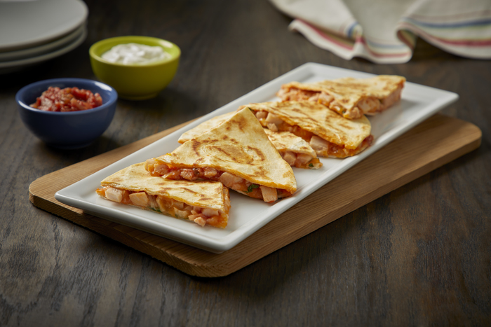 Mexican Turkey Quesadillas
