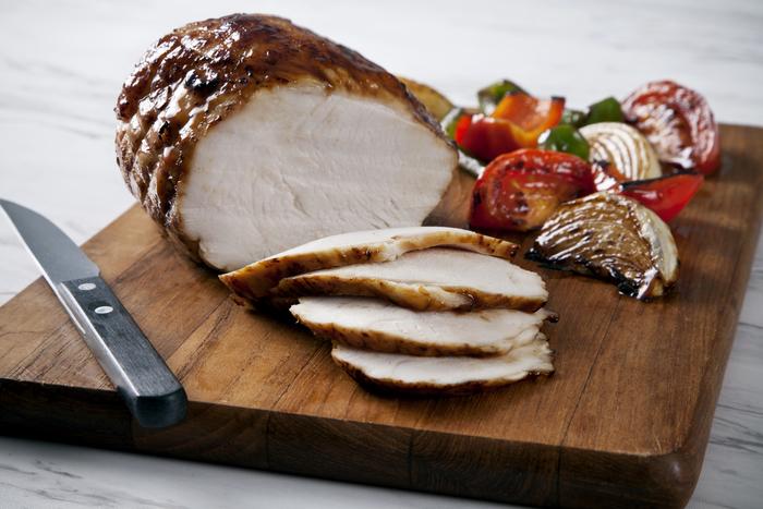 Grilled Teriyaki Turkey and Vegetables