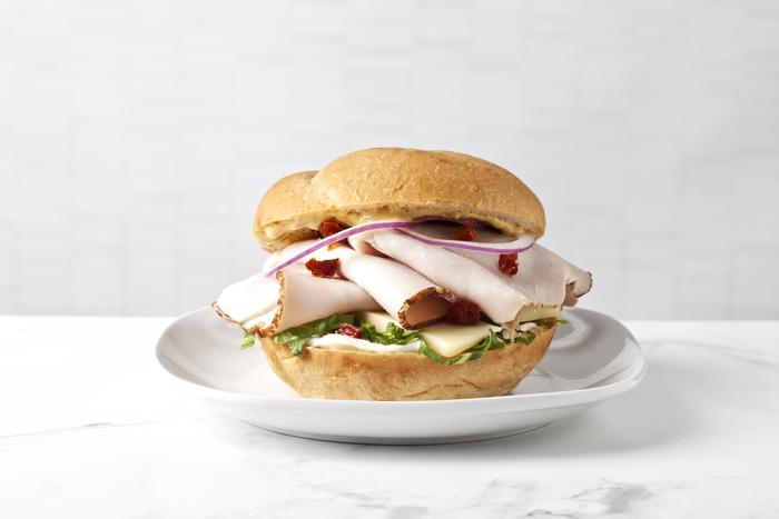 Asiago Turkey Sandwich