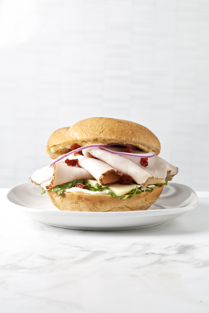 Asiago Turkey Sandwich