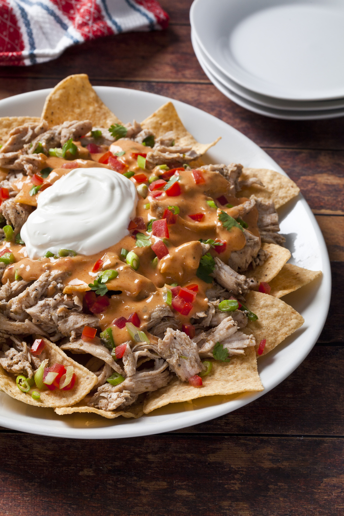 Fajita Turkey Nachos