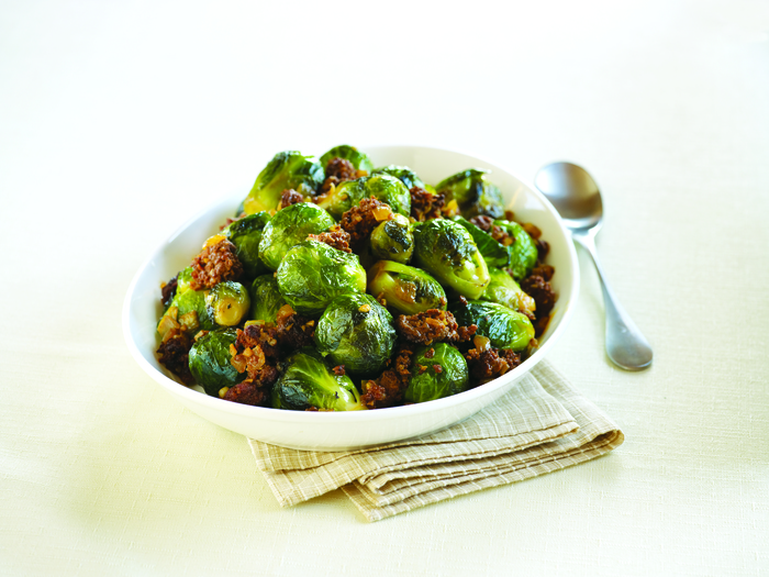 Catalan-Style Brussels Sprouts