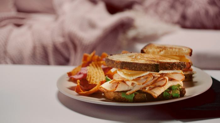 Grilled Turkey and Brie Sandwich