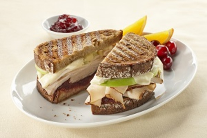 Butterball Thanksgiving Turkey Brie and Cranberry Panini