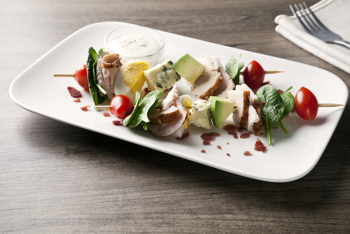 Cobb Salad Skewers