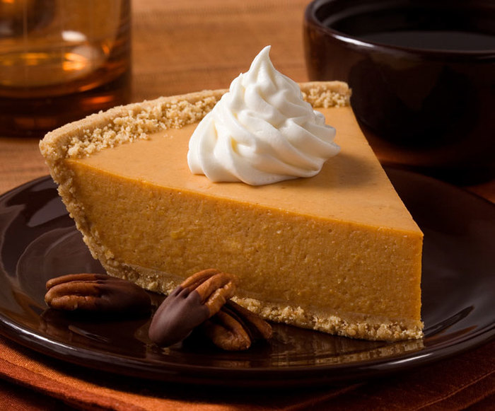 Easy No-Bake Pumpkin Pie