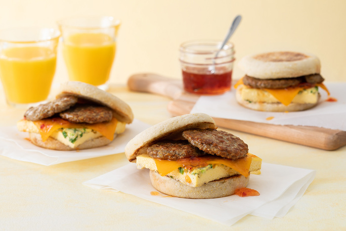 On-the-Go Breakfast Sandwiches